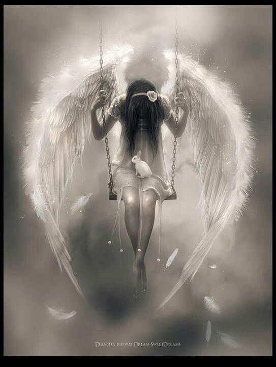 Angel on a swingbeautiful   Couples   Pinterest