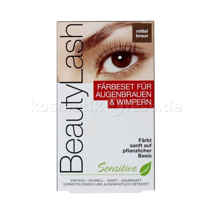 Beauty Lash - Färbeset für Augenbrauen und Wimpern - Mittel Braun - Kosmetik & Falsche Wimpern