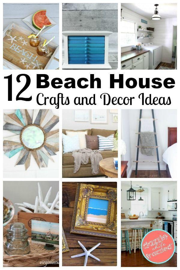How To Get a Beach Look with 12 Fun Coastal Decor Ideas - DIY