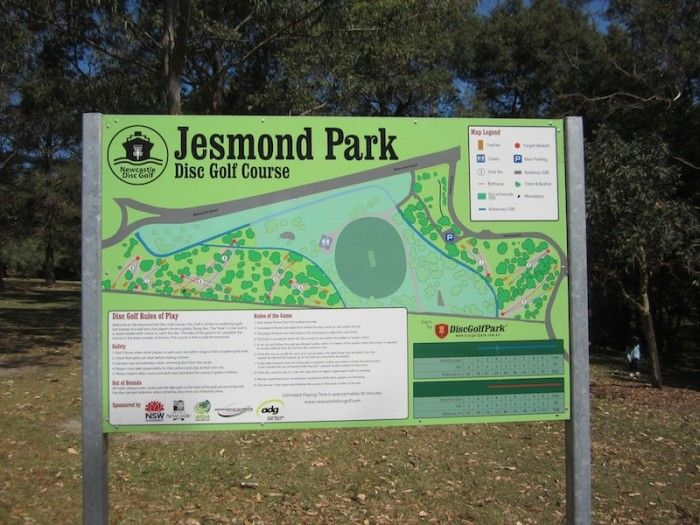 For some free fun, check out Jesmond Park Disc Golf Course