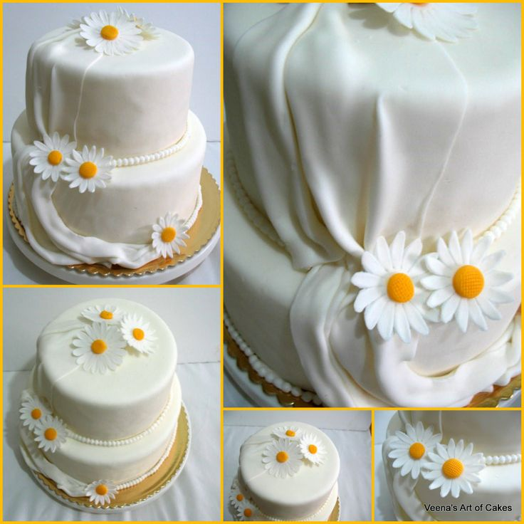 wedding cakes with daisy decorations 11 best wedding cakes images on 26016