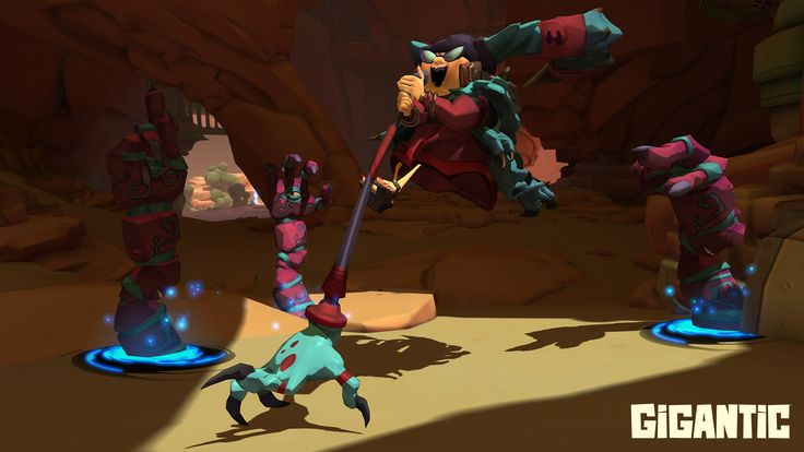 Gigantic's summoner, Griselma, is always ready to lend a hand.