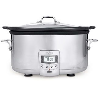 With a considerably high number of positive slow cooker reviews, this small-yet-sturdy appliance might be the most value-friendly option available among the top-rated slow cookers. Construction: The Cuisinart PSC /2-Quart Programmable Slow Cooker features an inner ceramic pot that is dishwasher safe while also able to withstand oven heat. The oval build of the stainless steel material forming the .