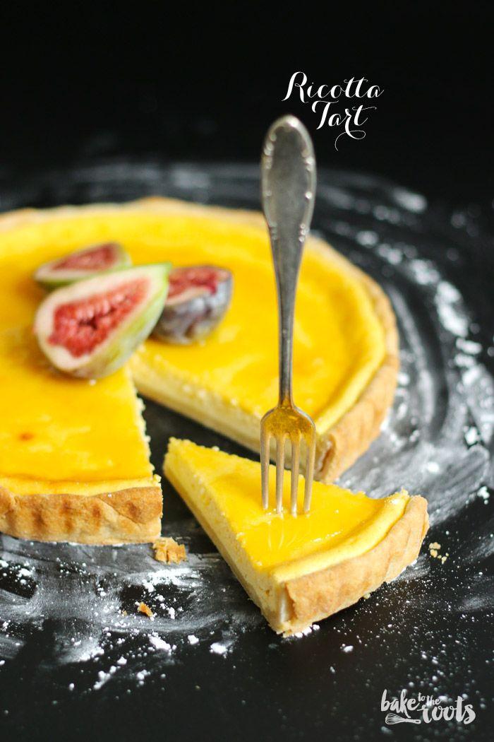 Ricotta Tarte mit Honig und Feigen