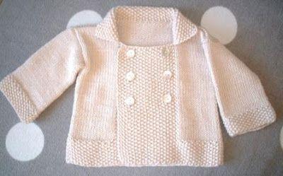 ... skulle ha hetat Sweet baby's jacket i detta inlägg och då i engelsk översättning. Hittade flera fel, så nytt försök kommer senare. Denn...