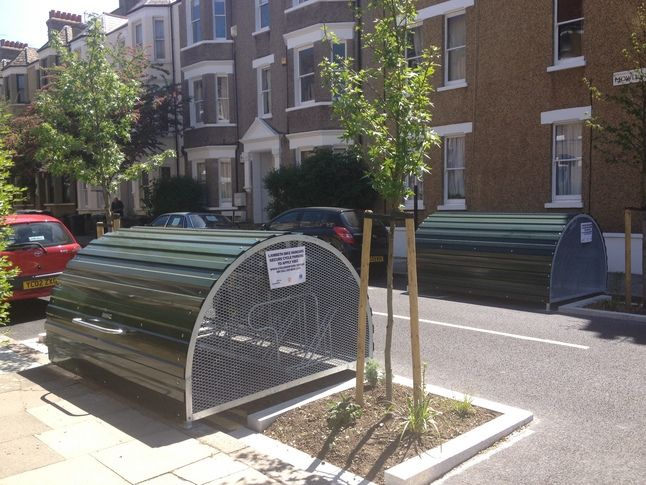 Your views on resident cycle parking