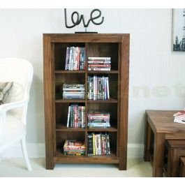 £289.99   The Baumhaus Mayan Walnut Open DVD And CD Storage Unit Exudes An  Exceptional