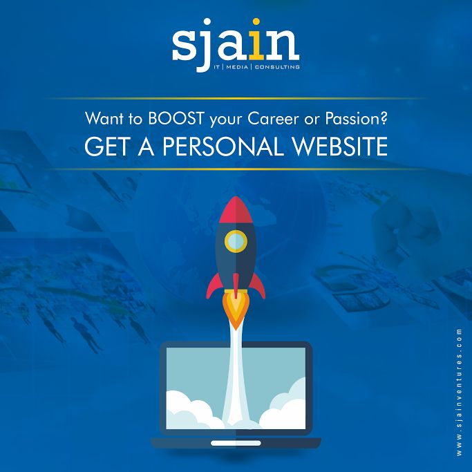 You have a side hustle or hobby and you're active in the online community, then a personal site can be helpful to grow that online influence, too.