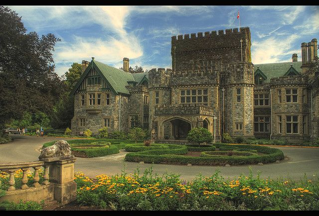Hatley Castle HDR --- Colwood, British Columbia, Canada --- By Brandon