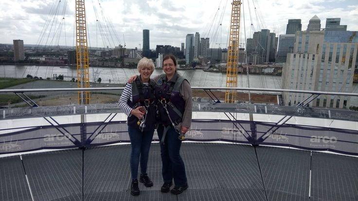 Our very own Heather Wright has just climbed the O2 in aid of St George's Hospital's Neurological Department! Great charity, great cause - well done Heather!