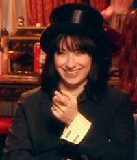 Amy Sherman-Palladino who wrote all that snappy dialog for Gilmore Girls.  Brilliant!