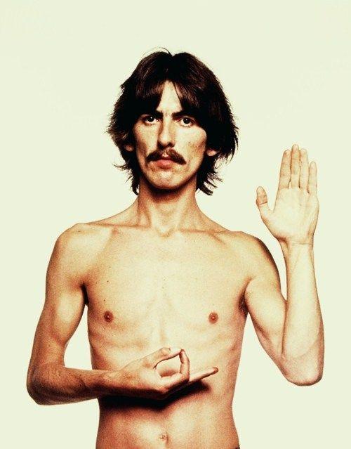 George Harrison, peace on earth.