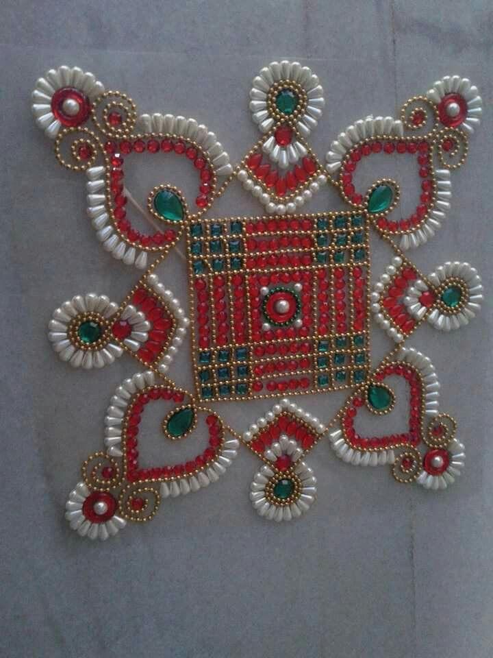 1552 best images about kundan rangoli on pinterest for Door design rangoli
