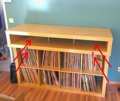 New DIY DJ M bel aus Ikea us Besta Serie Turntable Tables and Music