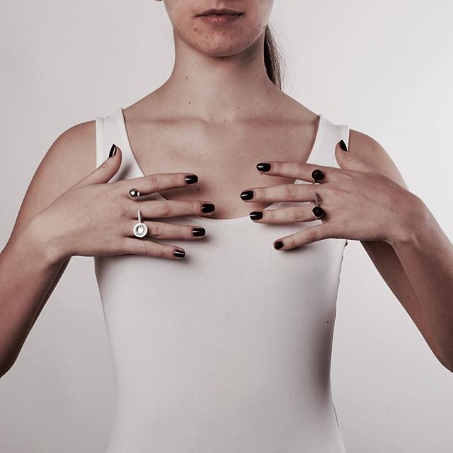 @esadmatosinhos week - rings - SilverxWood - model: @mauranguinha photography: @inesnleal