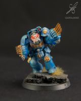 Space Marine Terminator 5th individual photo by Colorfulsavage