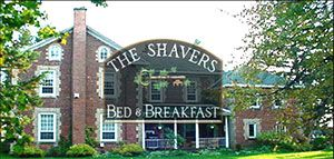 The Shaver's Bed and Breakfast provides a 650 sq. ft. private suite on 200 acres of beautiful privacy in Ancaster, Ontario.