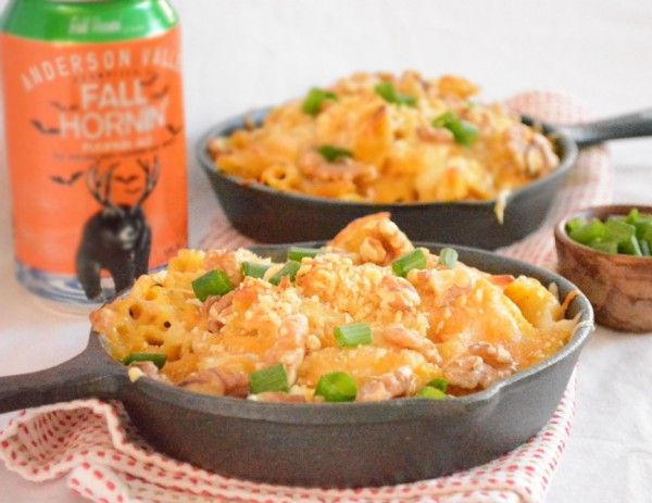 pumpkin macaroni and cheese | Halloween Party Ideas! | Pinterest