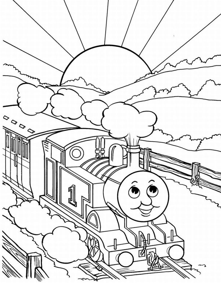 Best 25+ Train coloring pages ideas on Pinterest | Train template ...