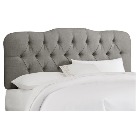 Carnaby Tufted Headboard in Grey