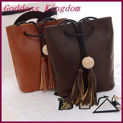 New arrival 2015 lady pouch PU leather women messenger bags vintage tassel shoulder bags female desigual handbag bolsas A7292