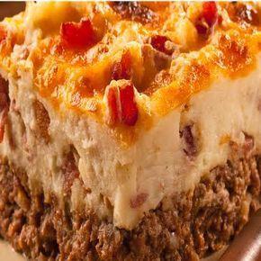 Ore-Ida® Cowboy Meatloaf and Potato Casserole