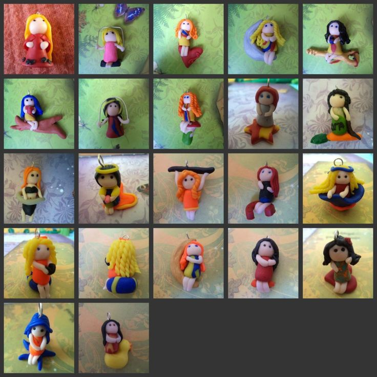 Creations with FIMO
