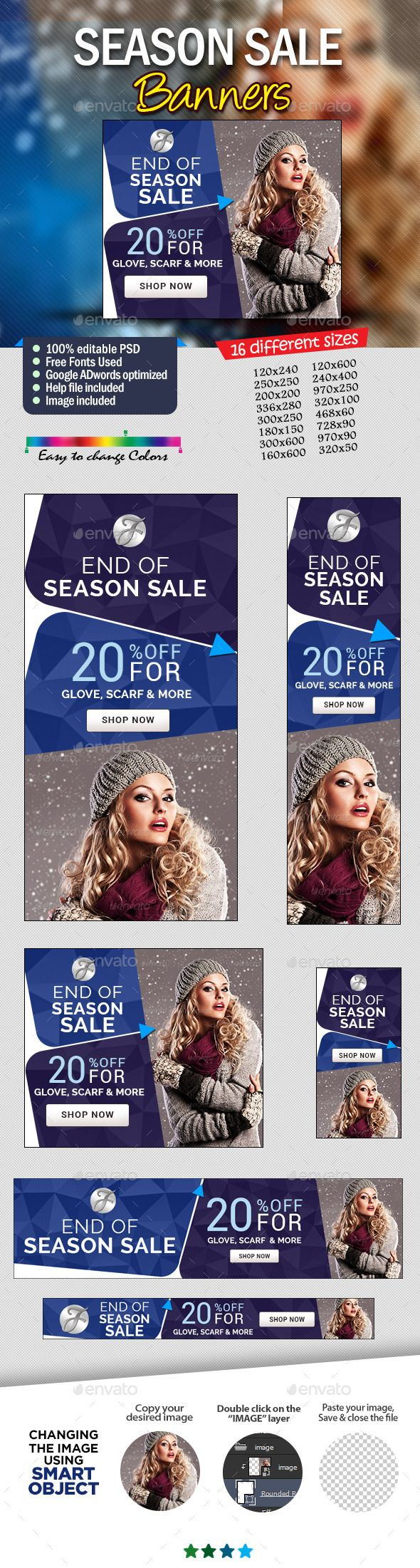Seasonal Offer Web Banner Design Set Template PSD | Buy and Download: http://graphicriver.net/item/seasonal-offer-banner-design-set/9134205?WT.ac=category_thumb&WT.z_author=doto&ref=ksioks