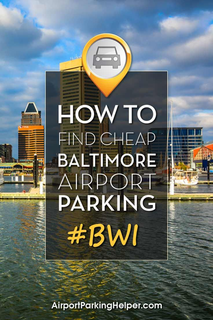 Bwi discount parking