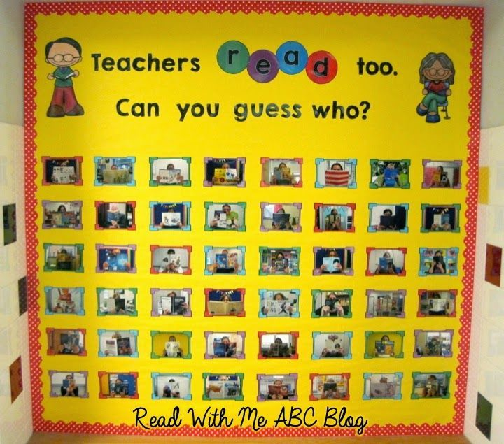 I'm popping in today to share a bulletin board I created for the start of school.  During our back-to-school inservice days I took pictures...