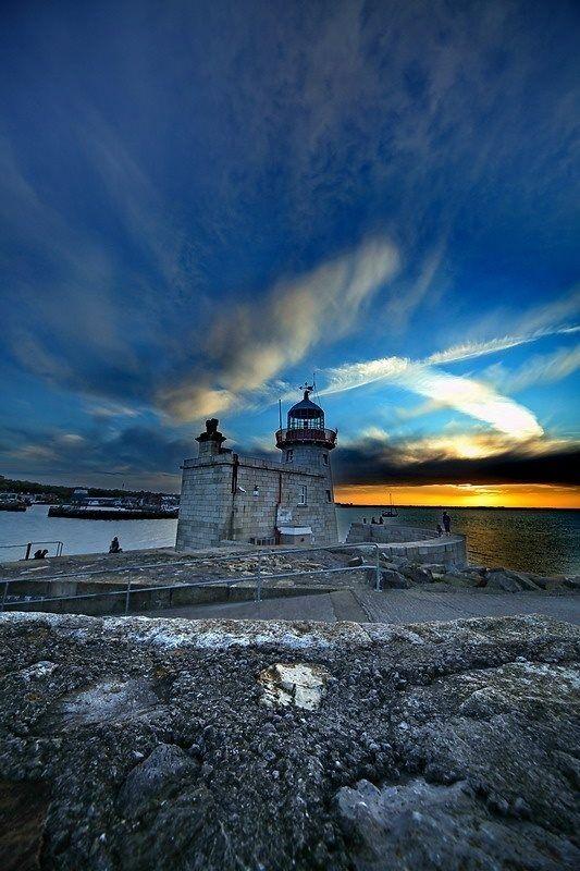 Ireland Lighthouses   Howth Lighthouse, Ireland