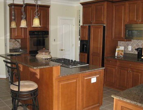 Kitchen Island 2 Levels 101 best kitchen designs images on pinterest | kitchen, kitchen