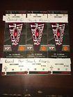 3 Virginia Tech VT vs Clemson tIckets. 35 yd line. Row NN. LOT 2 PASS ALSO!