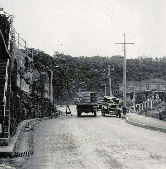 Spit Rd,Mosman in the Lower North Shore of Sydney in 1931.