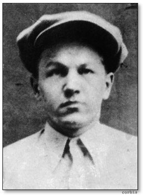 """George 'Baby Face' Nelson AKA (Lester Joseph Gillis)... He hated the nickname """"Baby face""""."""