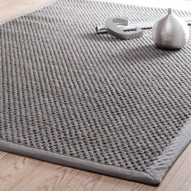Alfombra Bastide gris 160x230 | Maisons du Monde