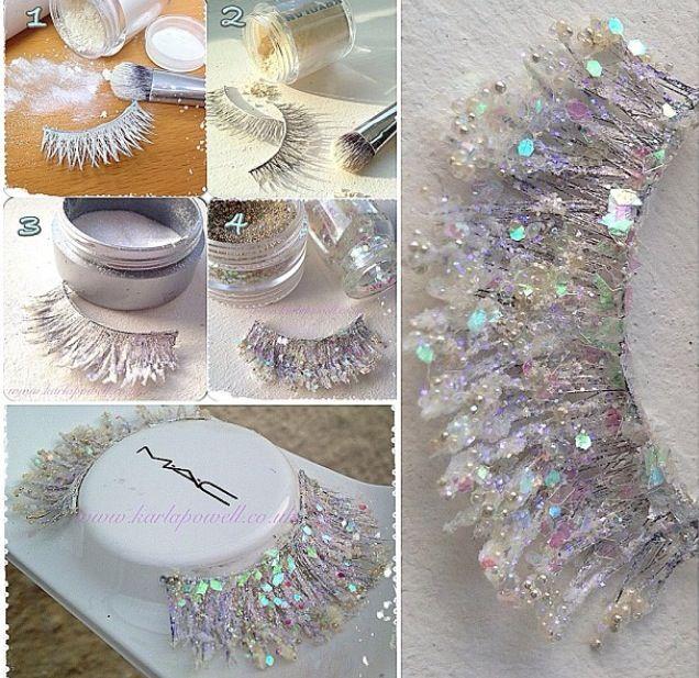 Ice lashes