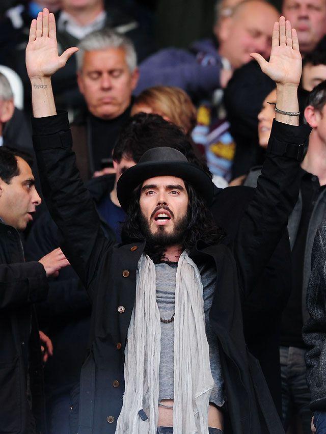 Russel Brand Lifelong West Ham Fan