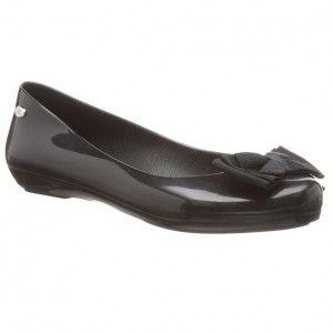 Mel Shoes Pop Ribbon Black Jelly Shoes #melshoes #shoes #fashion #black