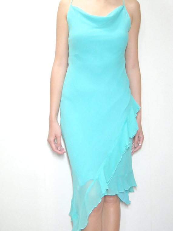 Turquoise Wedding Dress Wedding Attire Pinterest