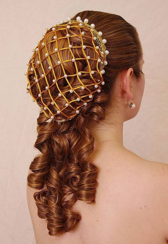 Medieval hairstyle (source info needed)                                                                                                                                                      More