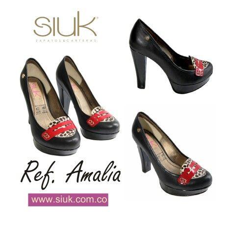 Ref. AMALIA,  mocasines de tacón.  Disponibles en nuestra tienda virtual www.siuk.com.co