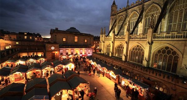Bath, England: Just when the Christmas celebrations are knocking at your doors, this place provides the best possible getaway for you and your family. Playing the perfect host of special yuletide activities, it becomes one of our most favourite places to spend the festive winter break. The highlight of the evening is the sound and light show that is offered to the visitors, marking the start of the opening of the winter markets.