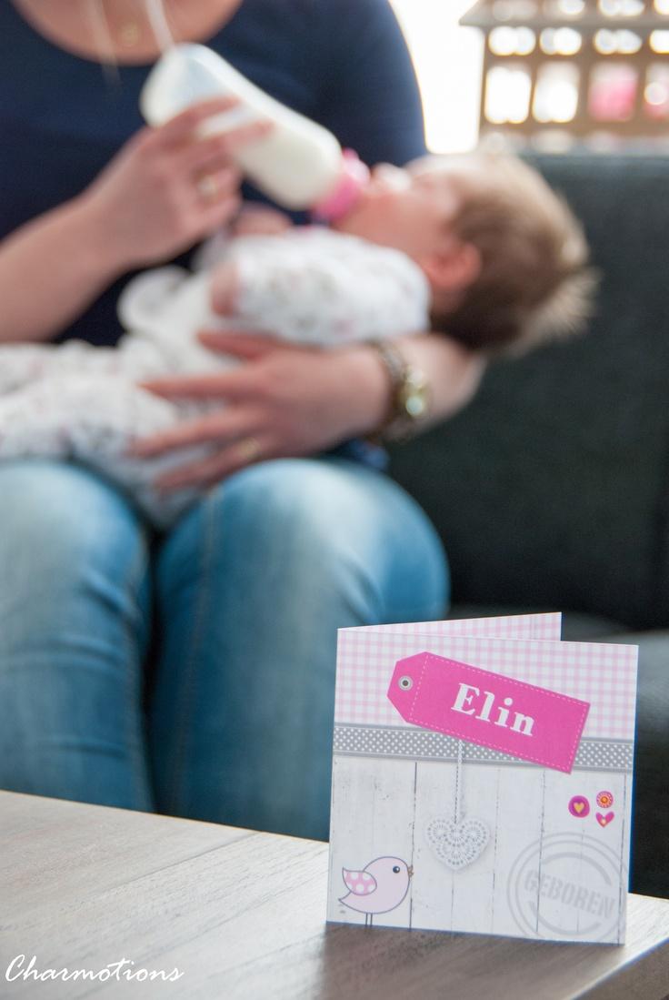 Charmotions Photography - Newborn girl card