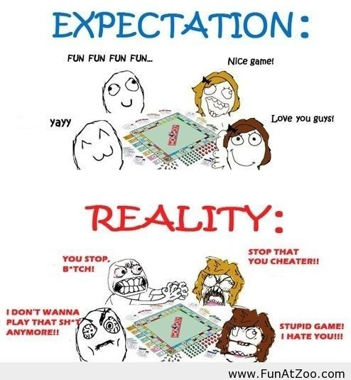 Expectation vs Reality meme Funny picture