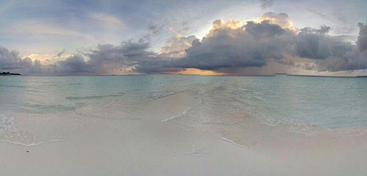 Вечера на Мальдивах!