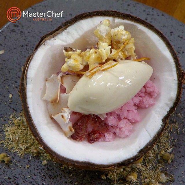 Another stellar #Reynold dish on #MasterchefAU ...
