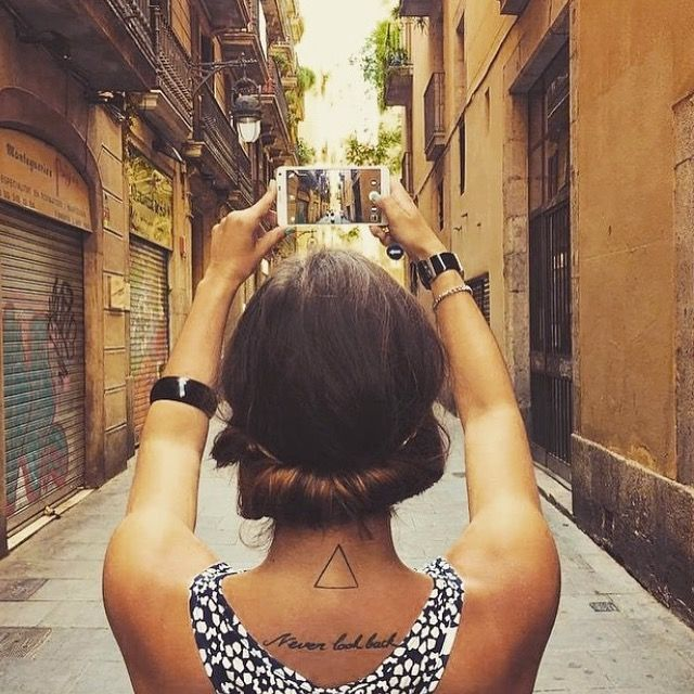 #Barcelona mi Amor, te echo de menos ❤️🇪🇸💎🔥#neverlookback#tattoo#ink#tatouage#tatoo#girl#inked#never#look#back#tattoos