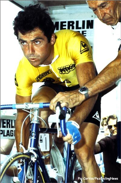 Bernard Hinault, TdF winner 1978, 1979, 1981, 1982 and 1985