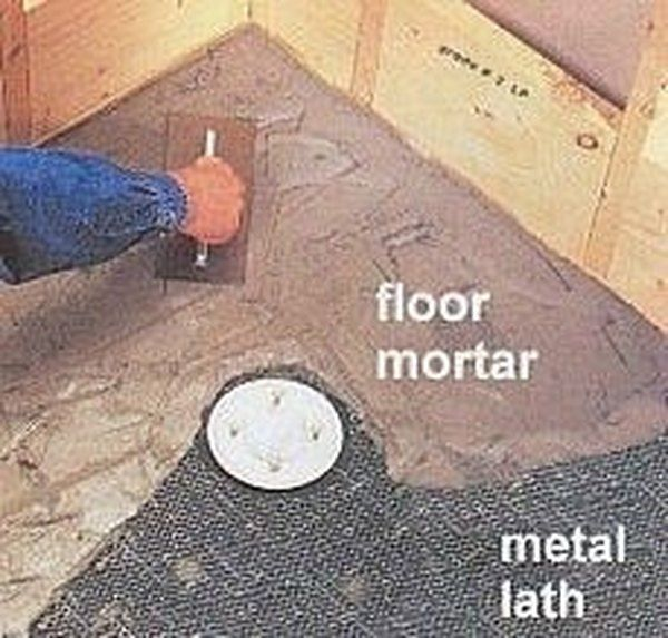How To Make A Concrete Shower Pan Hunker In 2020 Concrete Shower Concrete Shower Pan Shower Pan